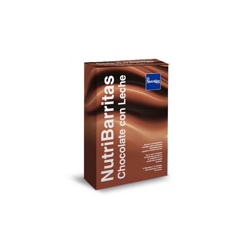 Barritas de chocolate con leche NutriCare