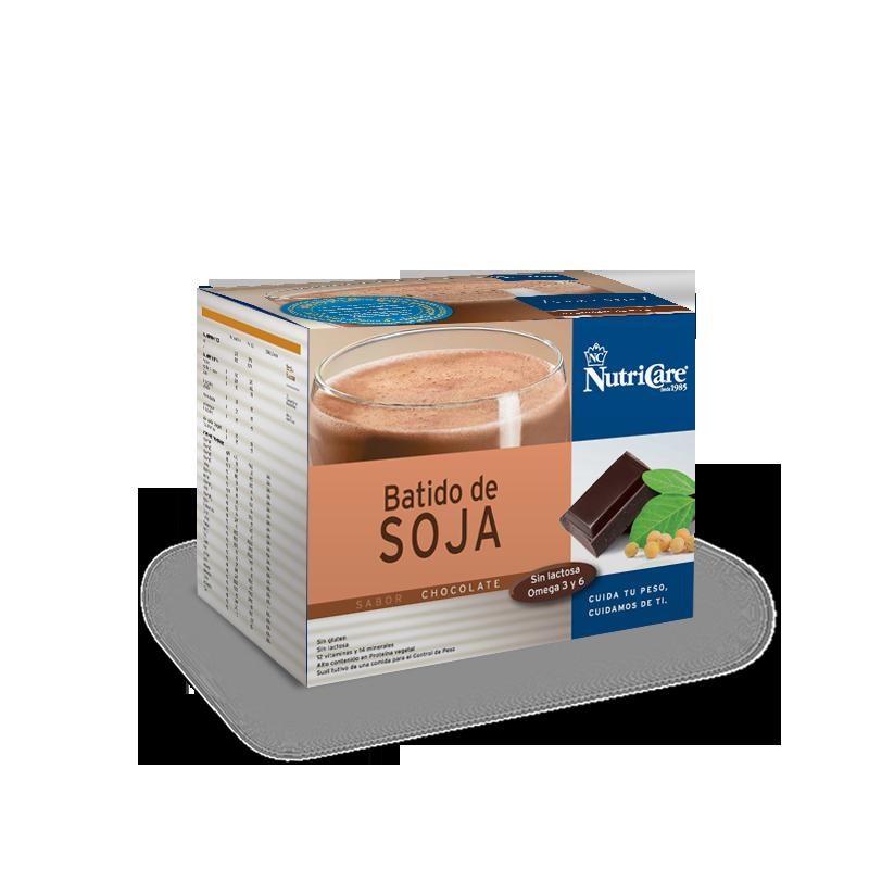 Batido de soja sabor chocolate NutriCare