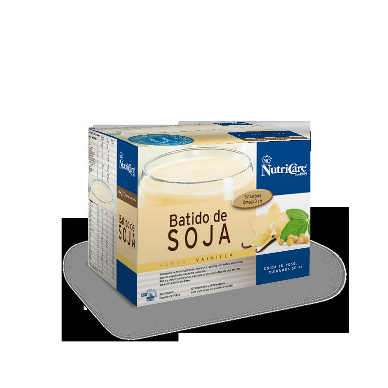 Batido de soja sabor vainilla NutriCare