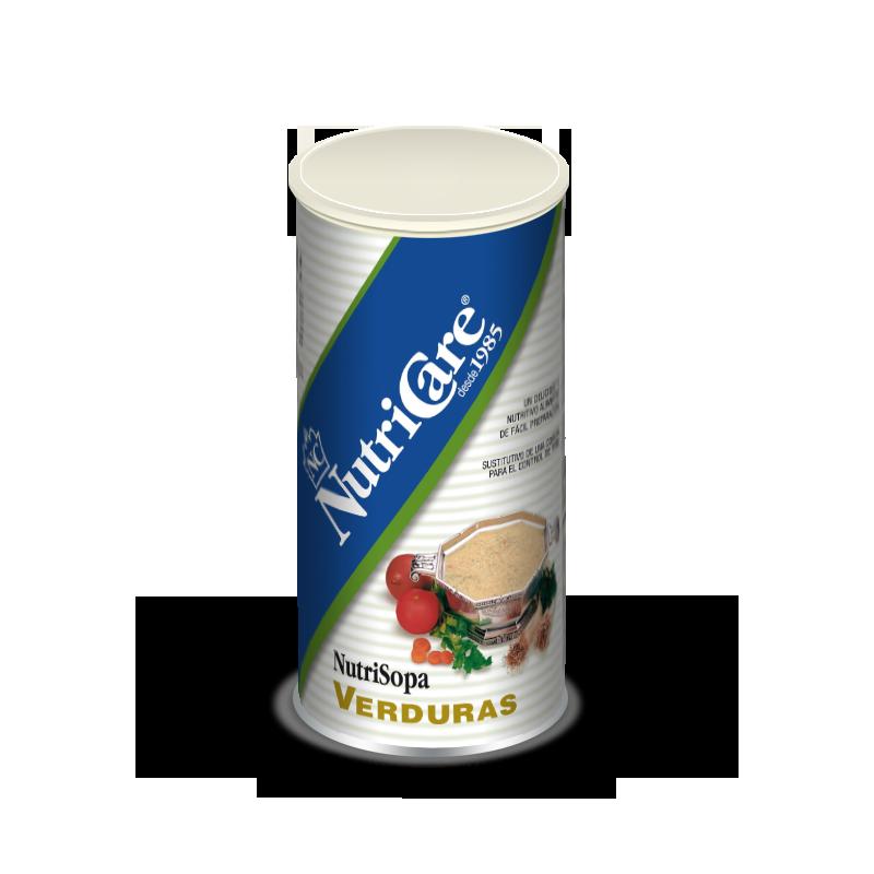 Sopa de verduras NutriCare