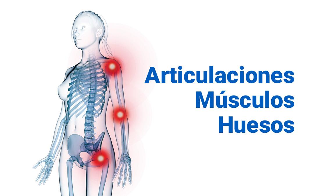 Solución a dolores en articulaciones, músculos y huesos
