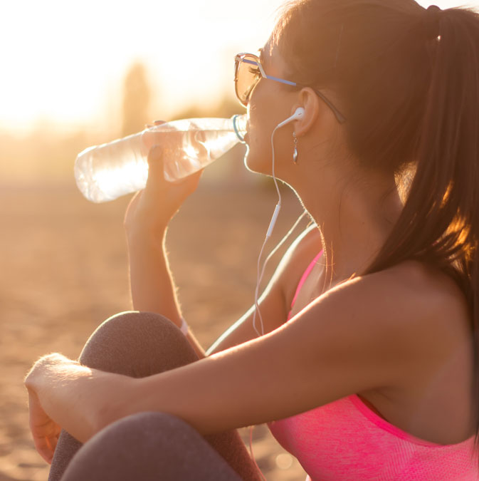 mantener la hidratación en verano