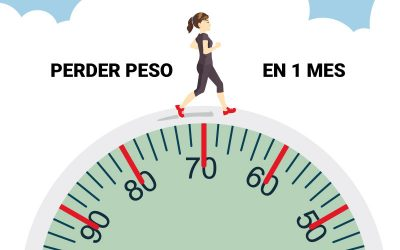 Dieta para perder peso en 1 mes