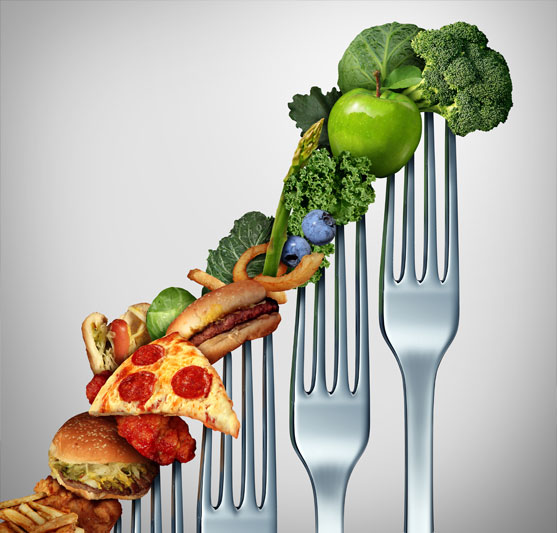 comer verduras y hortalizas
