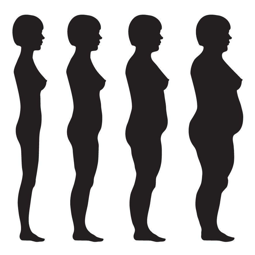 grasa en la mujer