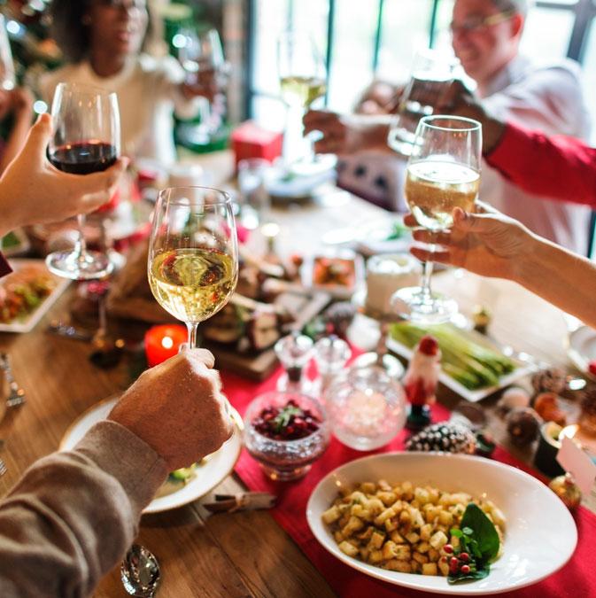 dieta en navidad