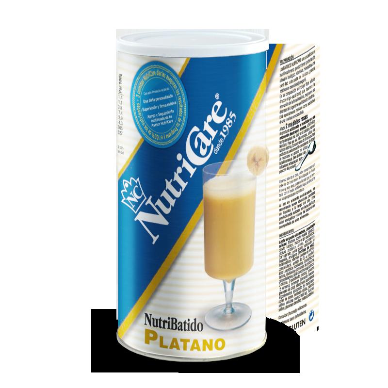 nutri batido de plátano NutriCare