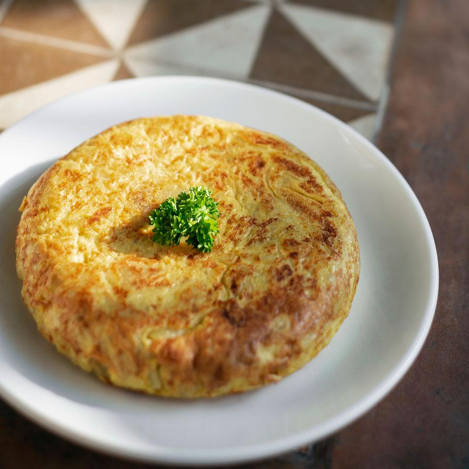Receta de Tortilla de Patatas NutriCare