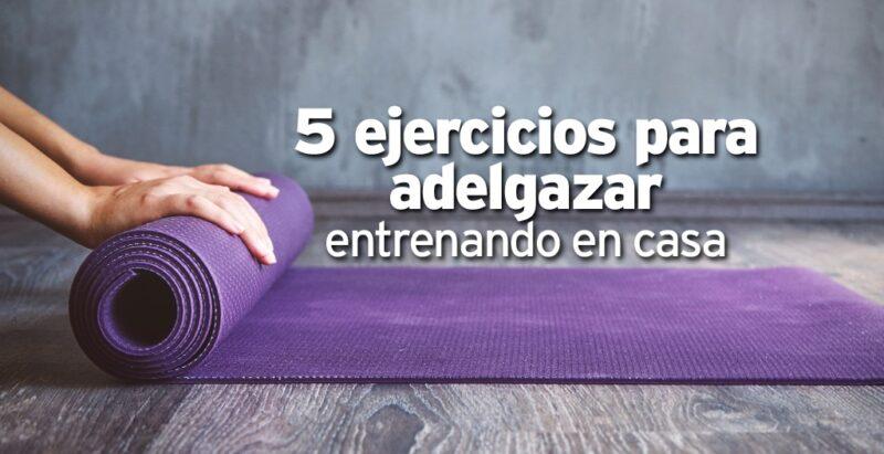 Sin salir de casa los mejores ejercicios para adelgazar