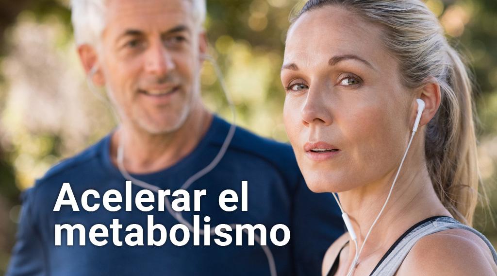 ¿Cómo acelerar el metabolismo y bajar de peso?
